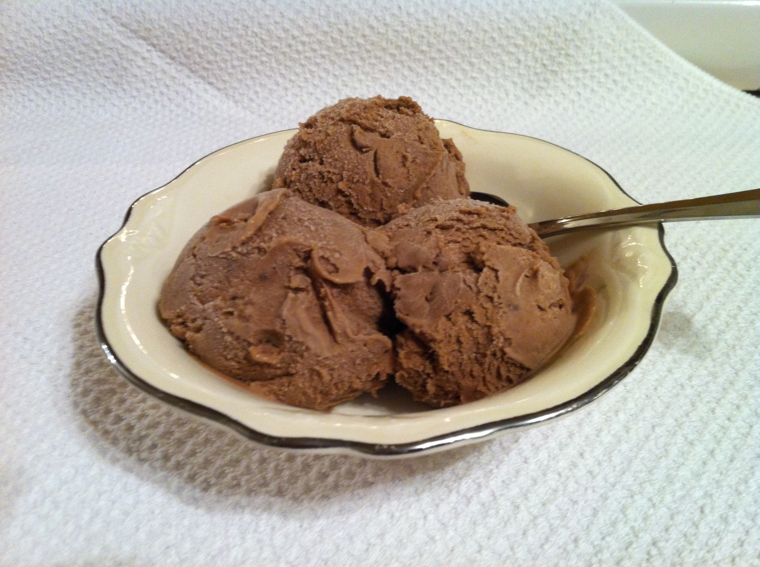 homemade chocolate pudding ice cream recipe