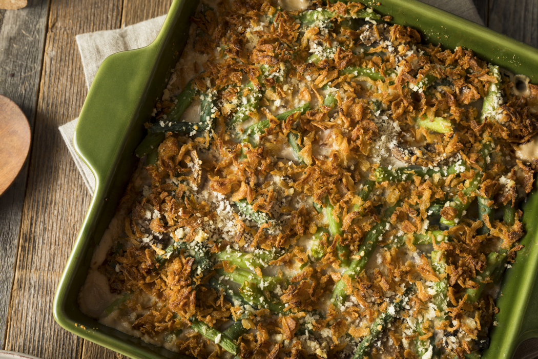 Classic Green Bean Casserole with Water Chestnuts ...