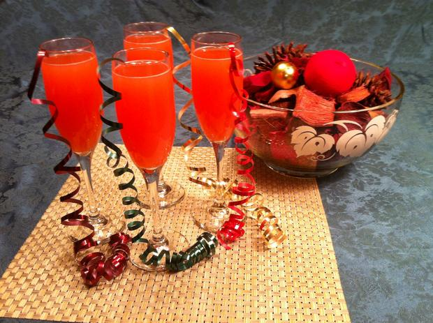 festive christmas punch recipe