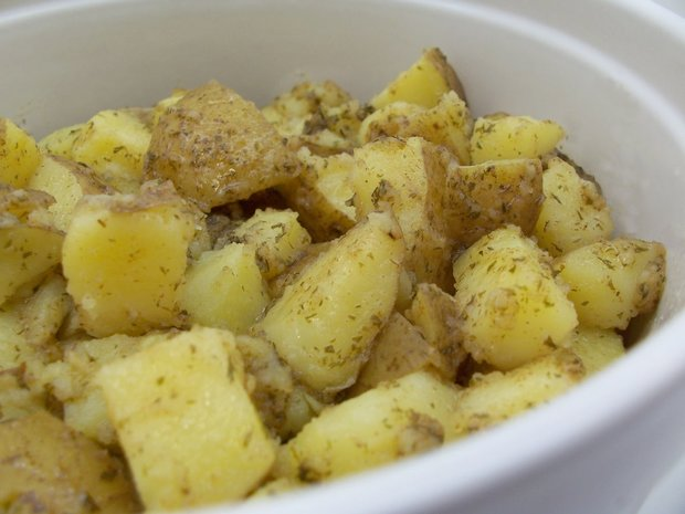 browned butter potatoes