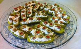 Chicken Salad Pickle Boats