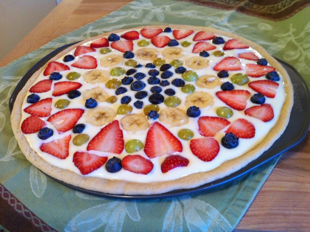 fruit pizza recipe