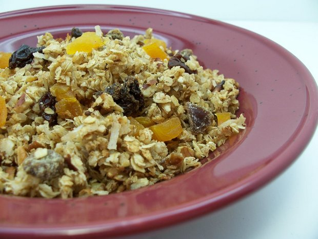 homemade golden granola recipe