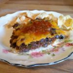 Overnight Breakfast Casserole With Hash Browns Bacon and Ham