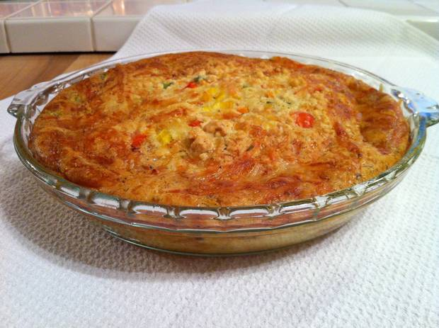 bell pepper quiche