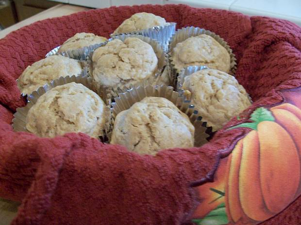 fall harvest squash muffins