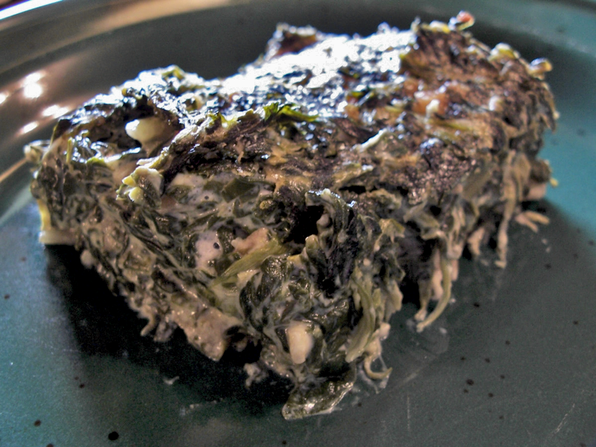 baked spinach recipe