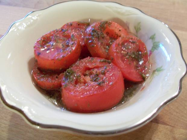 marinated tomato recipe