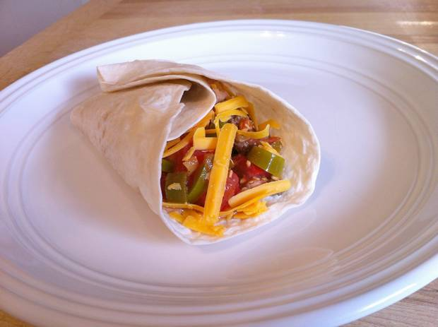 easy homemade burritos