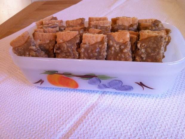 praline graham crackers