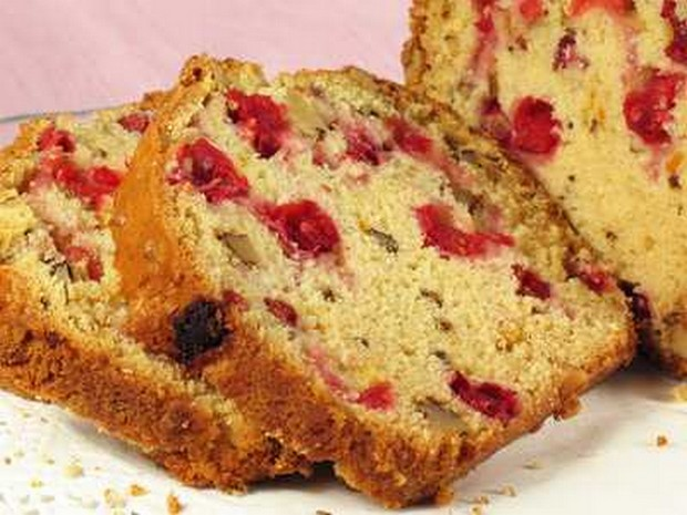 fresh cranberry bread