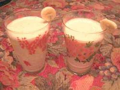 creamy banana smoothie recipe