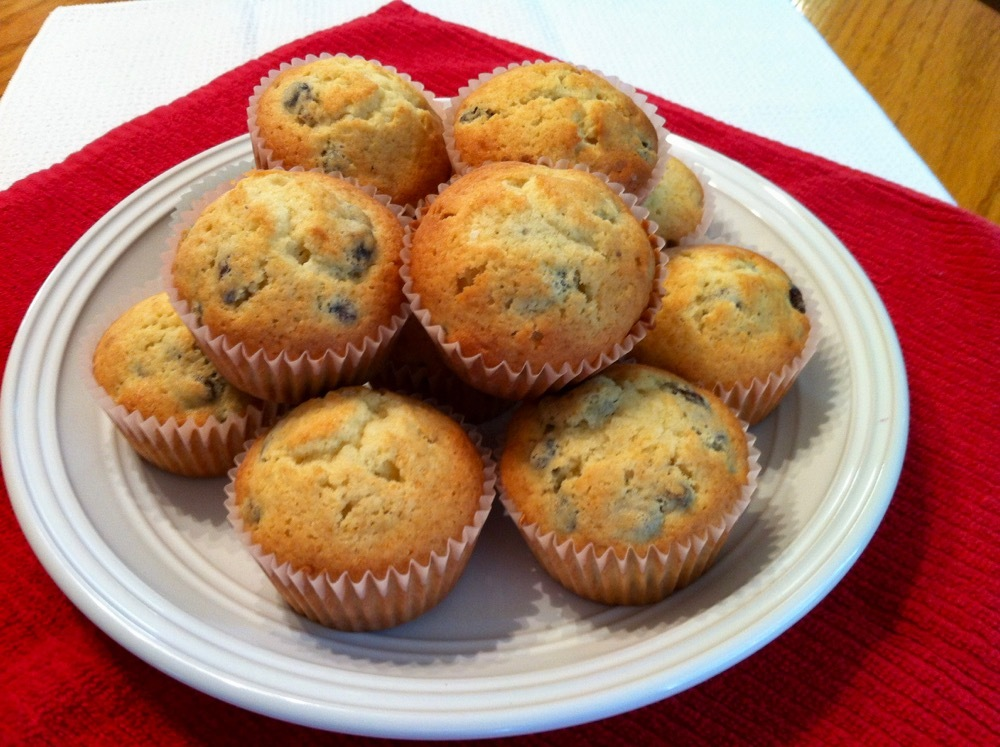Heirloom Raisin Muffins
