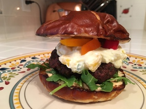 Jamaican Jerk Burgers Recipe