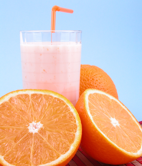 orange fruit julius smoothie