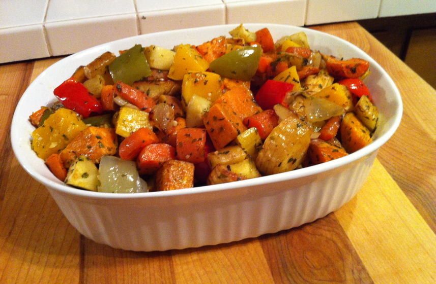 Easy Oven Roasted Vegetables Recipe Vintage Cooking