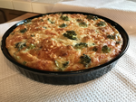 Easy Seafood Crab Quiche