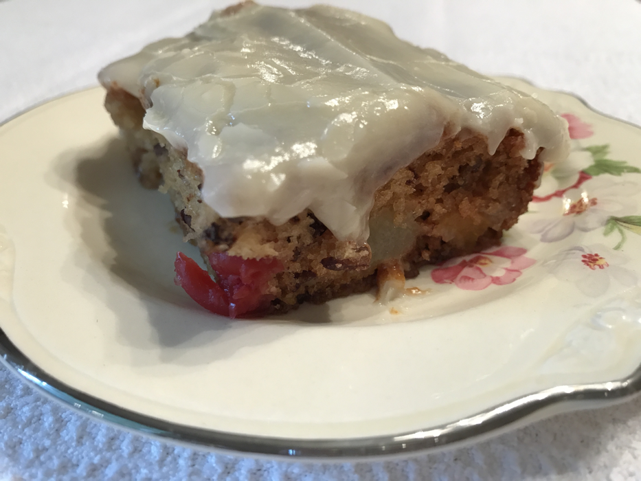 fruit cocktail coffee cake