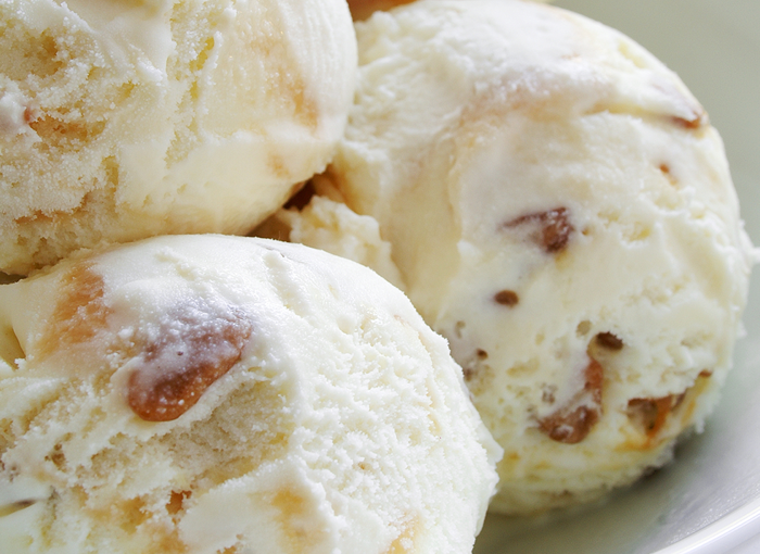 vanilla toffee ice cream